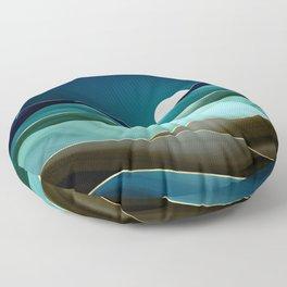Moonlit Vista Floor Pillow
