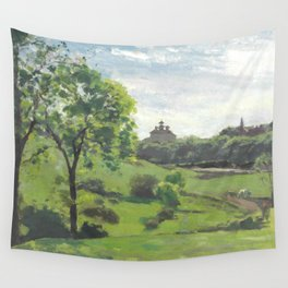 """Camille Pissarro """"South Norwood, étude"""" Wall Tapestry"""