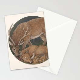 You are my deer Stationery Cards