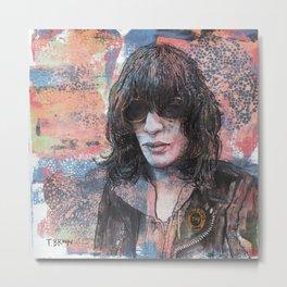 J. Ramone - I Wanna Be Sedated Metal Print