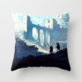 Skyhold Throw Pillow