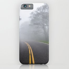 Great Smoky Mountains National Park - Road Trip Adventure iPhone Case