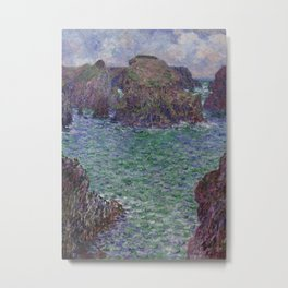Port-Goulphar, Belle-Île Metal Print