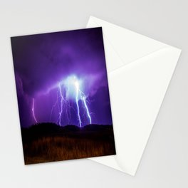 Foothills Lightning Stationery Cards