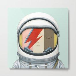 Astronaut Ice Cream - Major Tom Metal Print