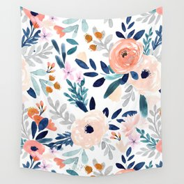 Jolene Floral Wall Tapestry