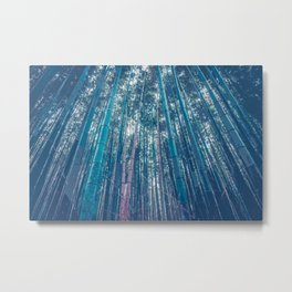 Within the Bamboo Forest Metal Print