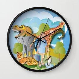 A Fantastic Journey Wall Clock