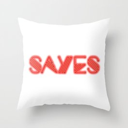 SaYes – she Throw Pillow