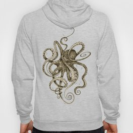 Octopsychedelia Sepia Hoodie