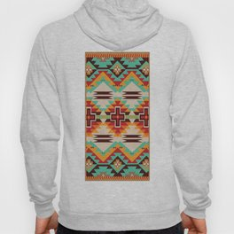 American Native Pattern No. 147 Hoody