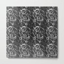 Rushing Glory seamless pattern Metal Print
