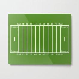 Football Field design Metal Print