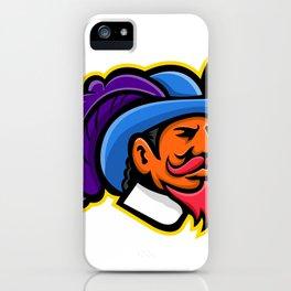 Cavalier Head Mascot iPhone Case