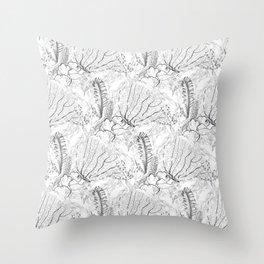 GRAPHITE SHARM REEF Throw Pillow