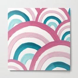 Rainbow Dream Pattern #2 (Kids Collection) #decor #art #society6 Metal Print