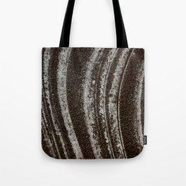 Symphony on ice - Macro image of ice Tote Bag