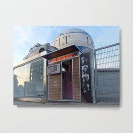 Old photo booth _ (photo machines) Metal Print