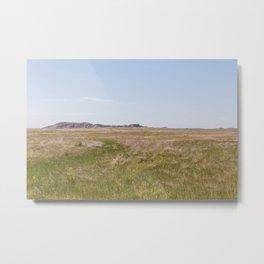South Dakota Prairie Metal Print