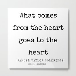 26    | Samuel Taylor Coleridge Poems | 200207 Metal Print