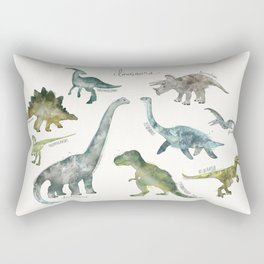Dinosaurs Rectangular Pillow