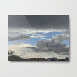 Calming Clouds Metal Print