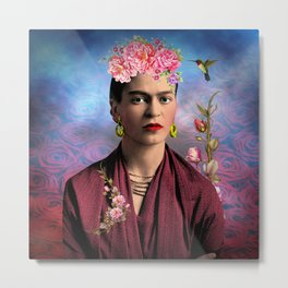Friday kahlo Metal Print