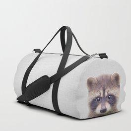 Raccoon - Colorful Duffle Bag