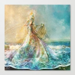 Shell Maiden Canvas Print