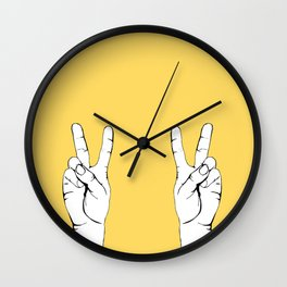 Peace I Wall Clock