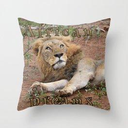 African Dreams Throw Pillow