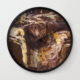 Golgotha IV Wall Clock