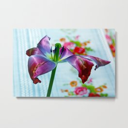 Goodbye Flying Tulip Metal Print