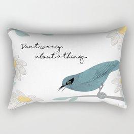 Three Little Birds (Parts 1 and 2) Rectangular Pillow