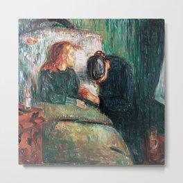 Edvard Munch - The Sick Child Metal Print