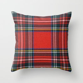 Love Tartán (5) - Stewart Royal Throw Pillow