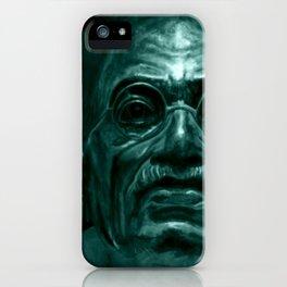 Mahatma Gandhi - quote iPhone Case