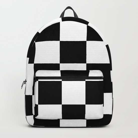 Contemporary Black & White Gingham Pattern by simplicity_of_live