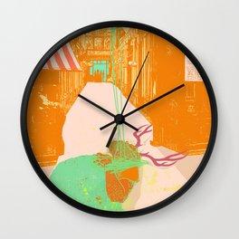 DEERMAN'S LAMENT Wall Clock