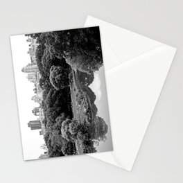 new york city ... central park relaxation Stationery Cards