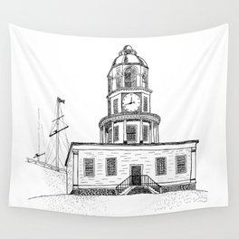 Halifax Town Clock Wall Tapestry