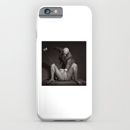 The Cane - Nude woman whipped iPhone Case