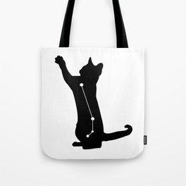 aries cat Tote Bag