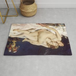 Gustave Courbet's The Sleepers Rug