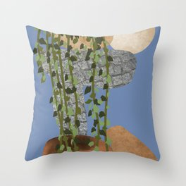 The Magic Of Nature, Night View, Scene 01 Throw Pillow