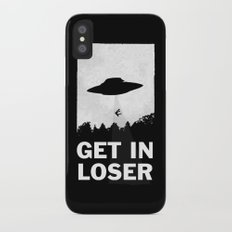 Get In Loser iPhone X Slim Case
