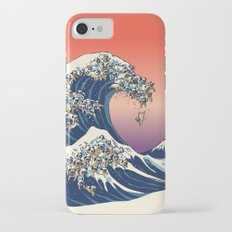 The Great Wave of Pug iPhone 7 Slim Case