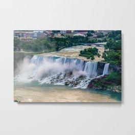 Niagara Falls at Dusk Metal Print