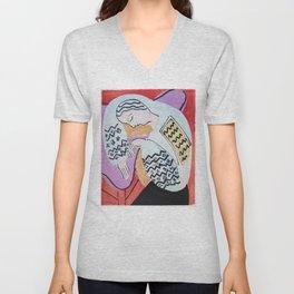 Henri Matisse - The Dream - 1940 Artwork Unisex V-Neck