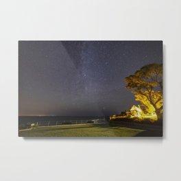 Summers night sky at Old Garden Beach Metal Print